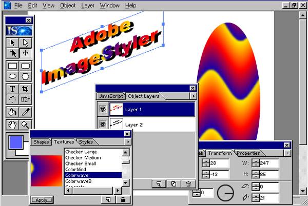Adobe ImageStyler 1 0